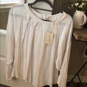 Perfect white lineny blouse